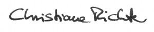 Unterschrift Christiane Richter